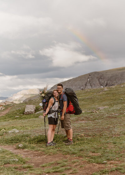 Ouray Backpacking Elopement Film | Colorado Videography