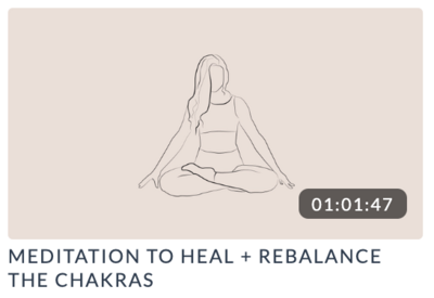 Meditation to Heal the chakras