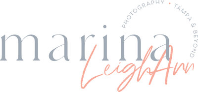 Marina LeighAnn Photography + Primary Logo + Color + RGB