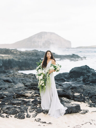 Makapu'u Beach Oahu Wedding