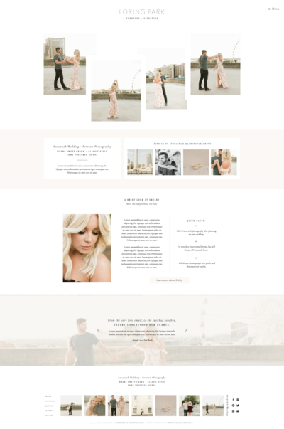 With Grace and Gold - Branding, Web Design, and Education for Creative Women in Business - Showit Design, Designs, Designer, Theme, Themes, Template, Templates - 3