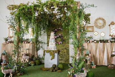 Woodland Forest Inspired Kids Birthday Party_0016