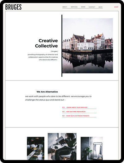 Bruges-ipad-website-home
