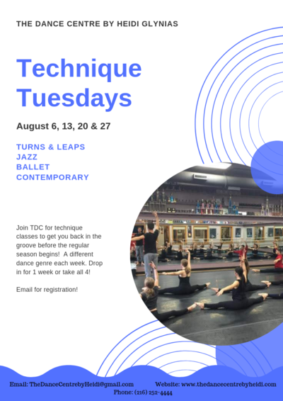 Technique Tuesdays 4.3.19