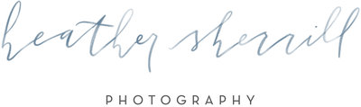 Heather Sherrill Photography primary logo