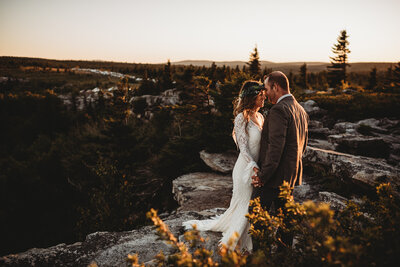 Dolly Sods  boho elopement