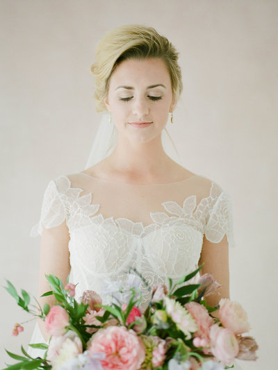 Fine Art Bridal Portraits - Sarah Sunstrom Photography - Film Wedding Photographer - 14