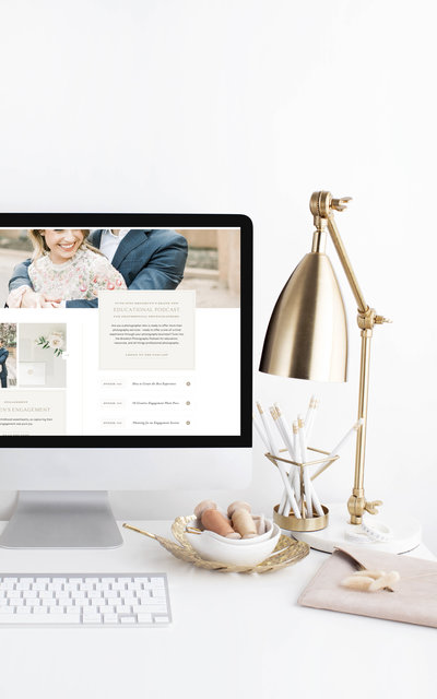 Brooklyn - Showit Website Template by With Grace and Gold - 3