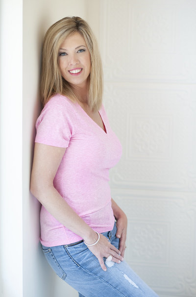 Headshot of Raleigh North Carolina Boudoir and Maternity Photographer