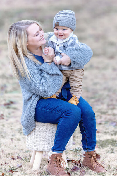 Mom and son lifestyle session, Carrollton Georgia Photographer