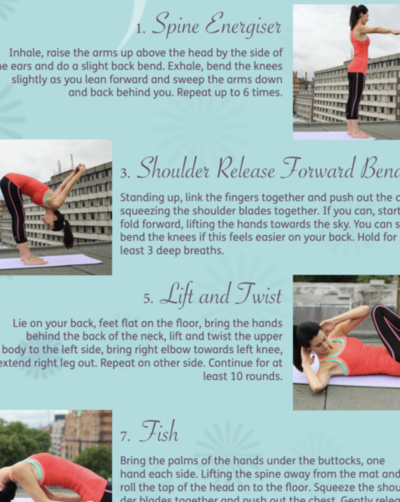 Body Yoga Wallchart