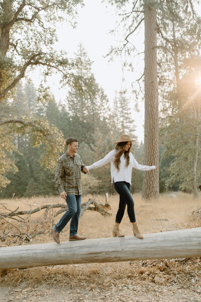 Kyndal & Cody - Yosemite Engagement - Tess Laureen Photography @tesslaureen - 97
