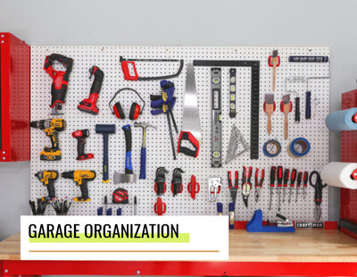lowes how to garage organization