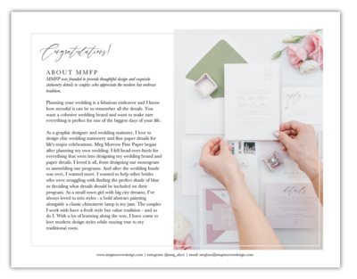 Wedding Stationery Guide
