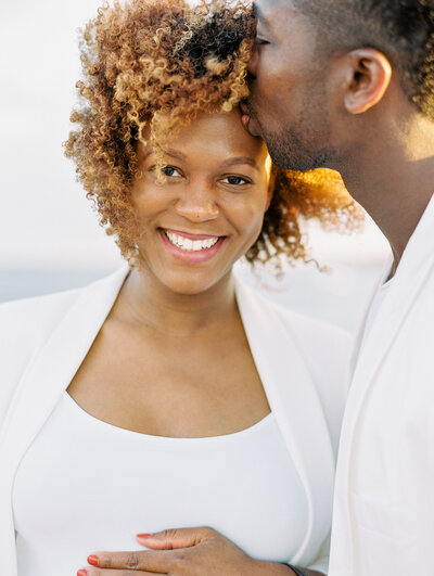 Natural hair maternity session in Florida