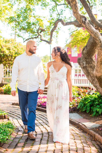 fall engagement session at madame sherris