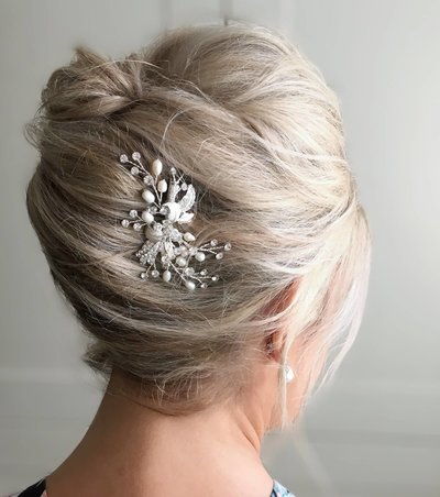Photo of bridal hair accessories