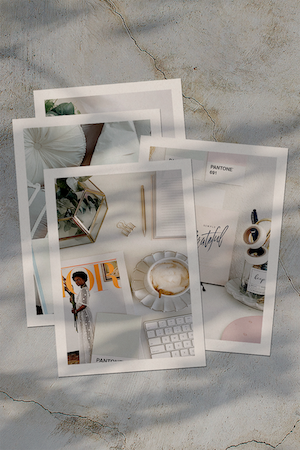 Design Photo Flat Lay