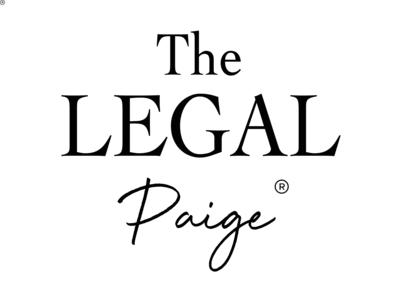 The Legal Paige Logo