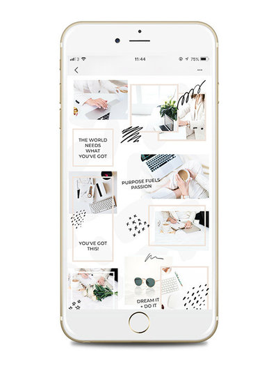 Canva-Instagram-Puzzle-Feed-Template