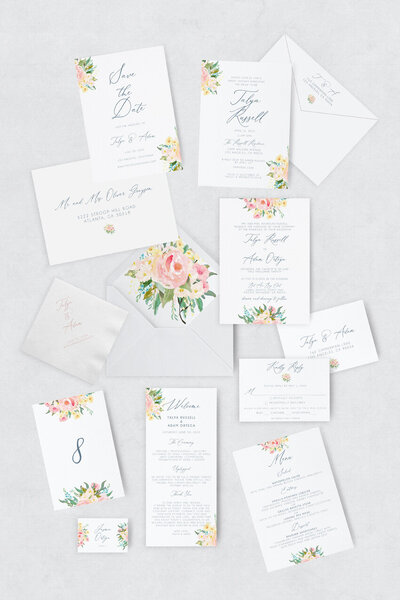 pirouettepaper.com | Wedding Stationery, Signage and Invitations | Pirouette Paper Company | Semi Custom Invitations | The Alice  08