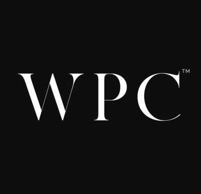 WPC-logo-white-text-black-background