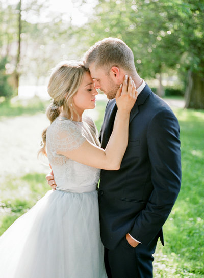 Bright and Airy Wedding Photos in MN