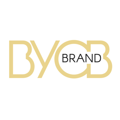 Branding Podcast - BYOBrand Podcast Logo - Transparent Background -Featuring Hannah Ellaham as host