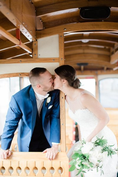 Lolly the Trolley Cleveland Wedding Marissa Decker Photography