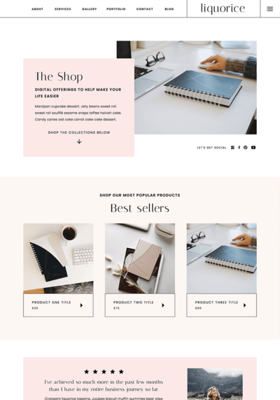liquorice-shop-showit-template