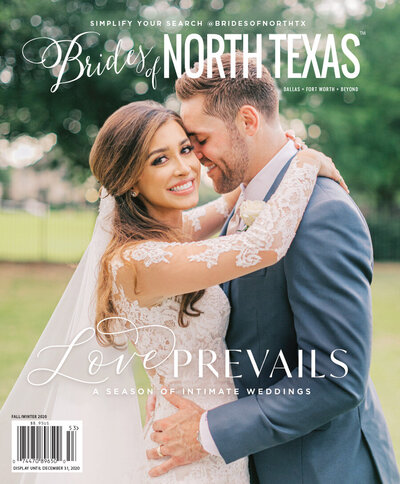 fall winter 2020 brides of north texas cover