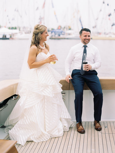 Annapolis, Maryland Yacht Wedding