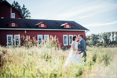 Marionfield Farms is a wedding venue in the Seattle area, Washington area photographed by Seattle Wedding Photographer, Rebecca Anne Photography.