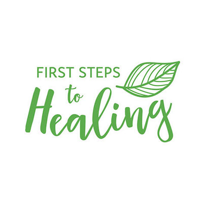 First Steps to Healing Logo by The Brand Advisory