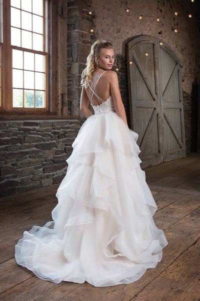 Justin Alexander Wedding Dress 1