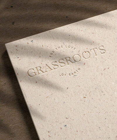 Grassroots | Semi-Custom Brands for the Social Entrepreneur | Studio Humankind