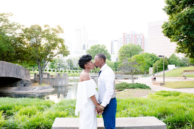 Romare Bearden Engagement_Mane and Grace Photography_NC Wedding Photography