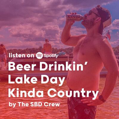 Beer Drinkin Lake Day