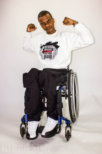 Ray Grand Apparel is a celebration of overcoming adversity expressed through clothing. Ray is also the CEO of Handprint which provides custom promotional items for organizations and teams.