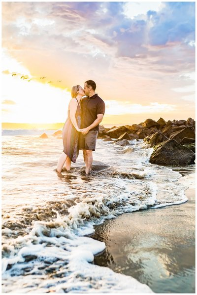 Couples session in Coronado, California