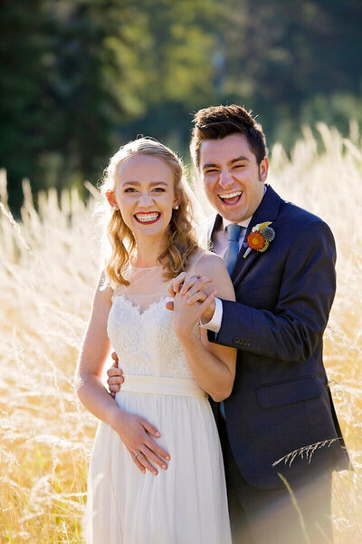 Spokane wedding photographer at local wedding venue