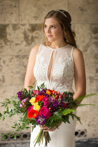 Summer flowers, downtown  Knoxville,  Knoxville Wedding Venue