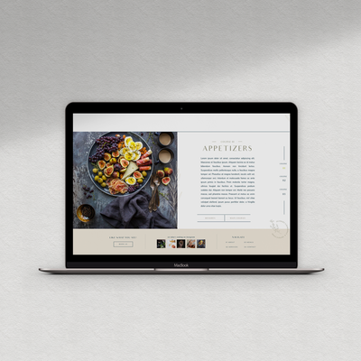 web design for restaurants and caterers