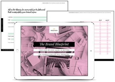 Brand Strategy for Photographers: The Brand Blueprint Workbook | Ready to uplevel your brand? Download this free guide to build your brand strategy