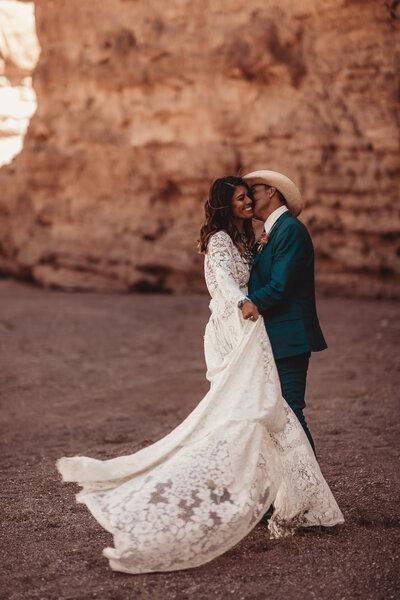 Western Wedding Photographer Native Roaming Photography