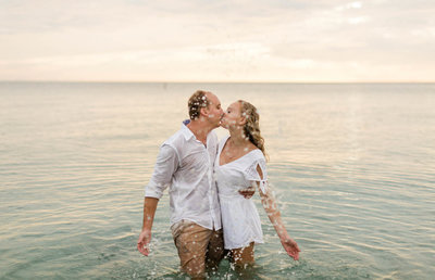 delnor wiggins pass beach florida engagement photos