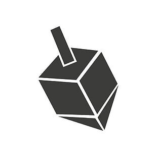 flat-icon-in-black-and-white-style-dreidel-vector-thumb