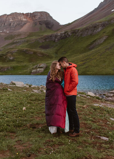 Backpacking Elopement Ouray | Ice Lake Elopement