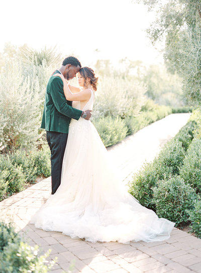 Luxury fall wedding in the desert of Arizona