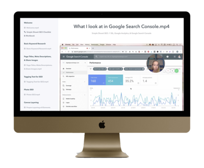 Search Console Mock Up